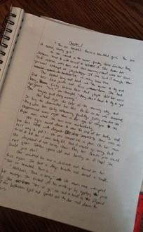 Shadowed Strength manuscript