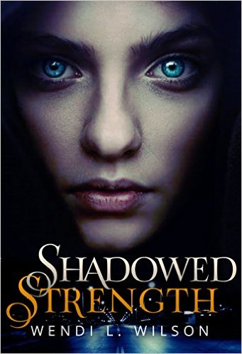 YA Paranormal Romance Shadowed Strength Book Cover